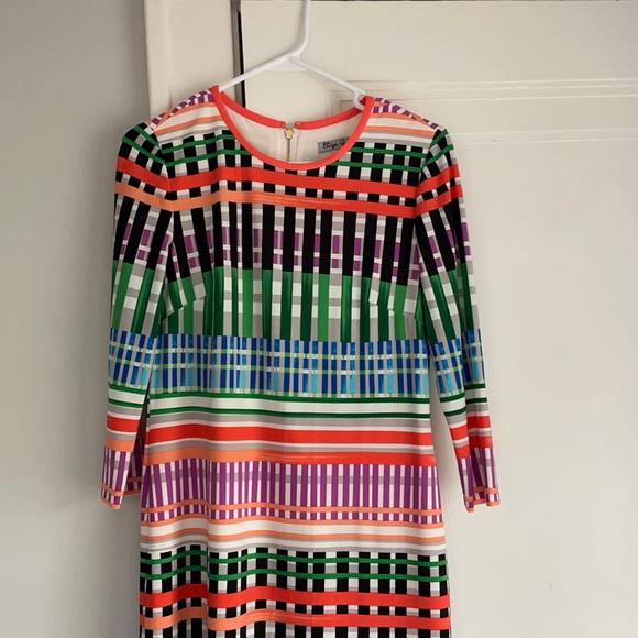 Eliza J graphic print Jersey Shift Dress. Size 4
